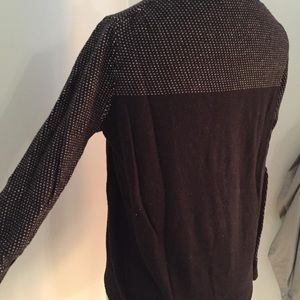 Madewell Sweaters - Madewell Wallace Black Jackalope Rabbit Sweater